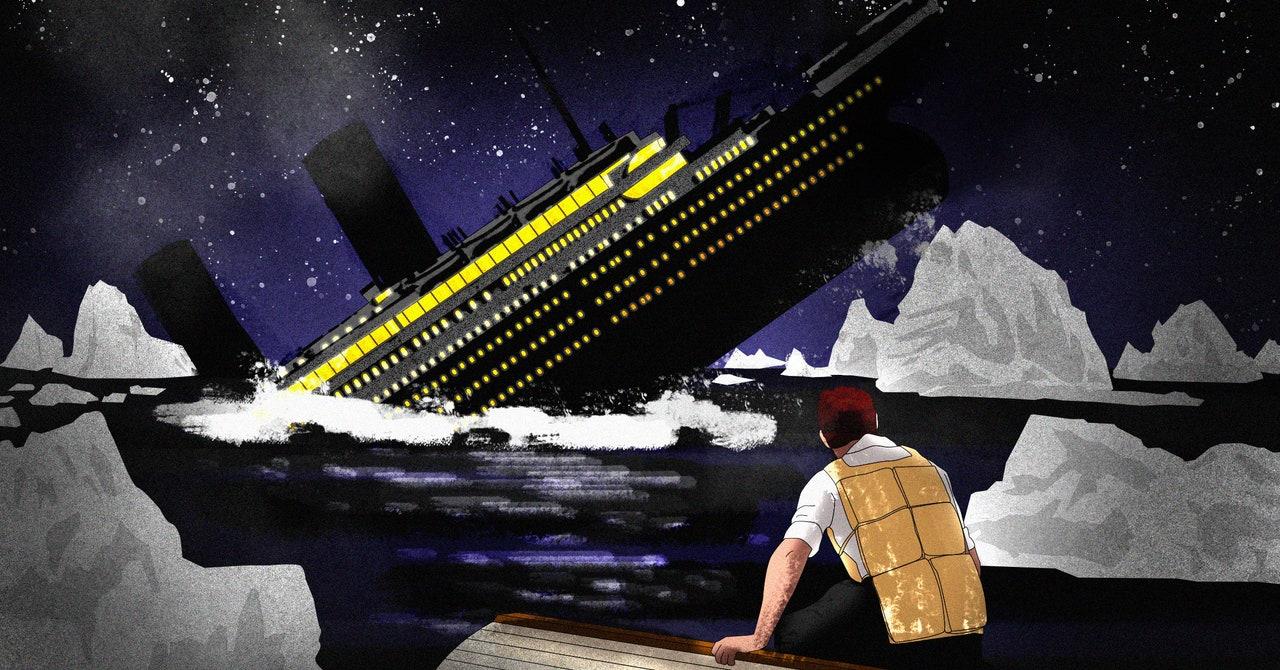 Cómo escapar de un barco que se hunde (como, digamos, el 'Titanic')