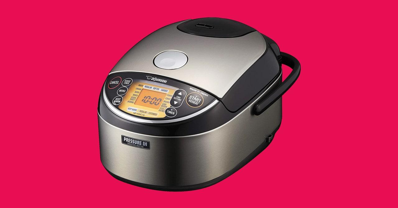 Revisión de la olla arrocera y calentador de calentamiento por inducción a presión Zojirushi: hace un arroz casi perfecto