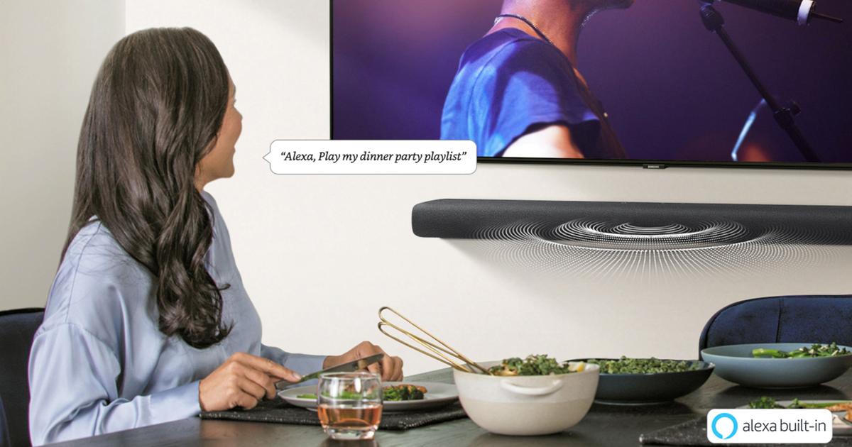 Ahorre $ 130 en la barra de sonido de 4 canales Samsung HW-S60T