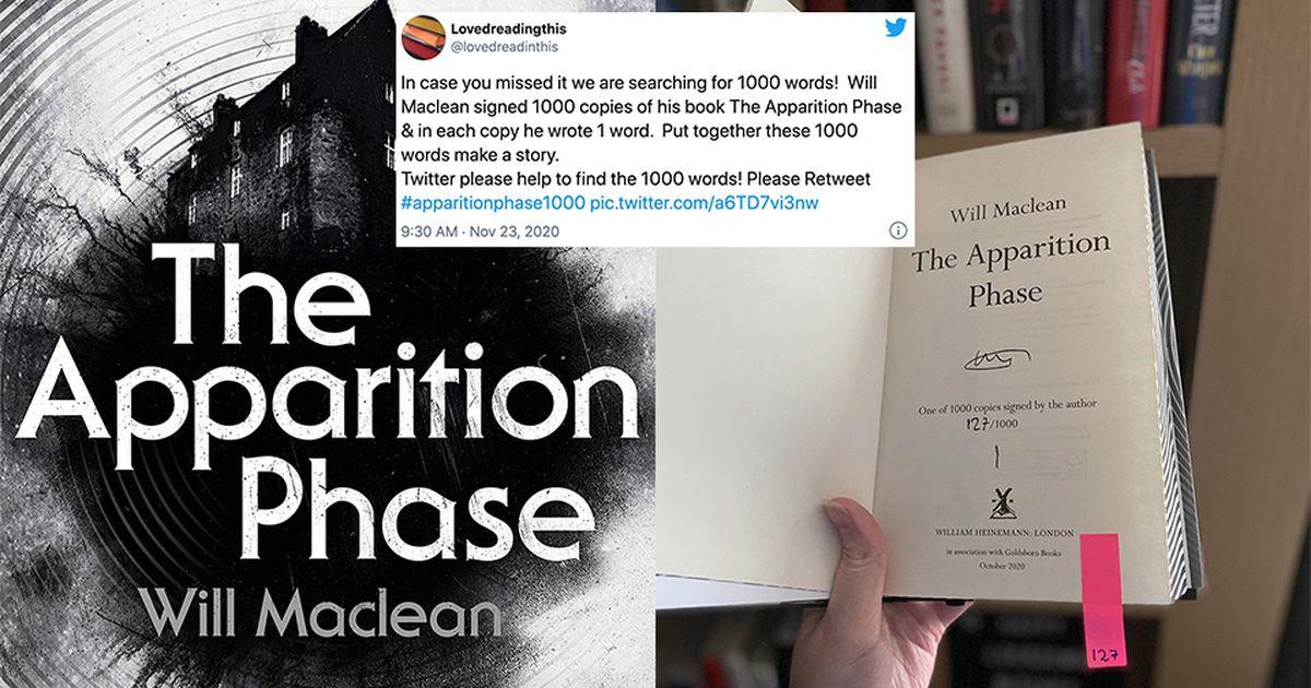 Autor esconde un cuento en 1000 copias de su libro, Twitter se convierte en detective