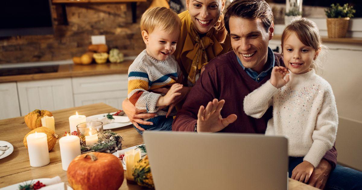 Cómo organizar el Día de Acción de Gracias virtual