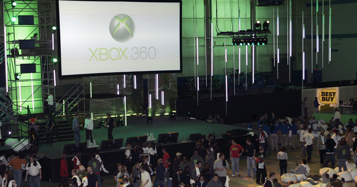 Hace 15 años, la Xbox 360 se lanzó en el desierto.  Qué evento tan salvaje.