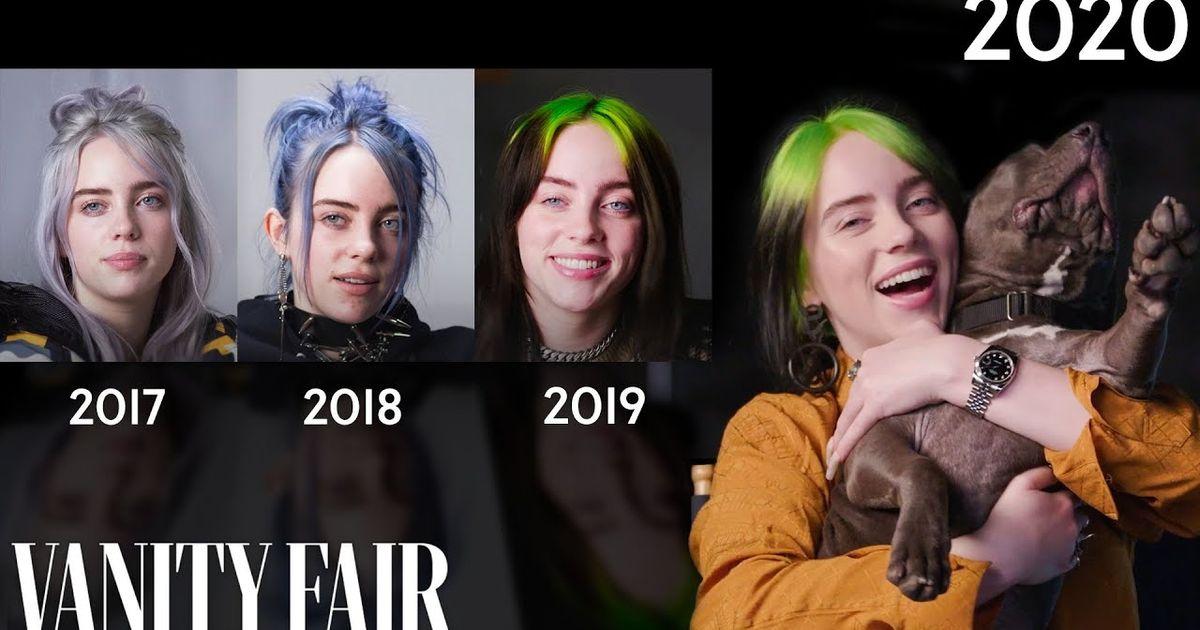 La entrevista anual de Billie Eilish sobre 'Vanity Fair' está aquí para recordarnos que ha pasado UN AÑO