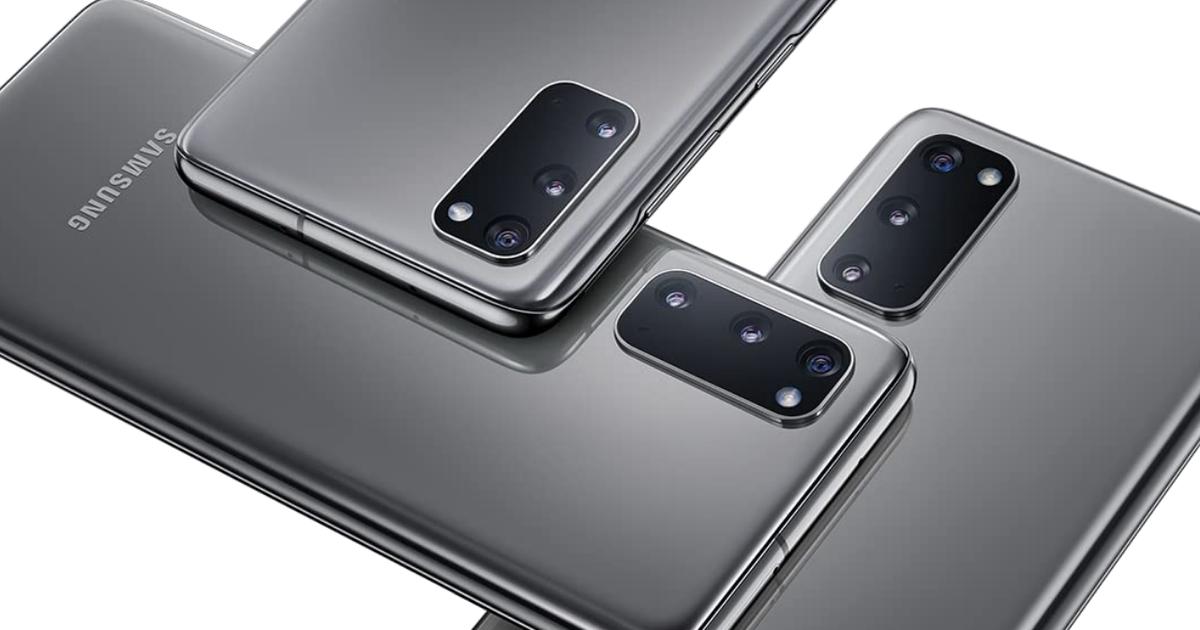 Los teléfonos inteligentes Samsung Galaxy están a la venta para el Cyber Monday