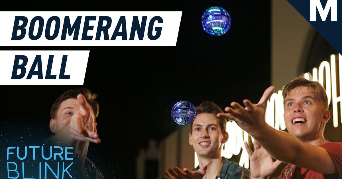 Redefina la gravedad con este spinner de boomerang volador - Future Blink