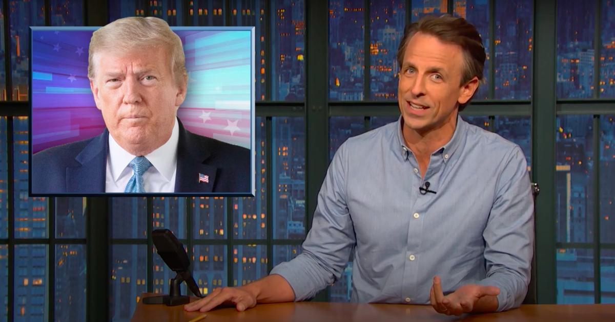 Trump está 'destrozando la democracia estadounidense' con afirmaciones de fraude infundadas, advierte Seth Meyers