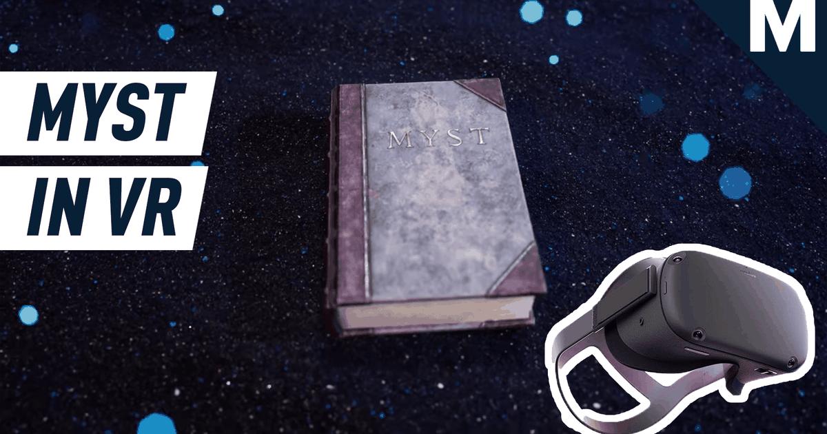El cambio de imagen de Oculus Quest de Myst es la mejor manera de volver a visitar el clásico: Juegos para jugar antes de morir