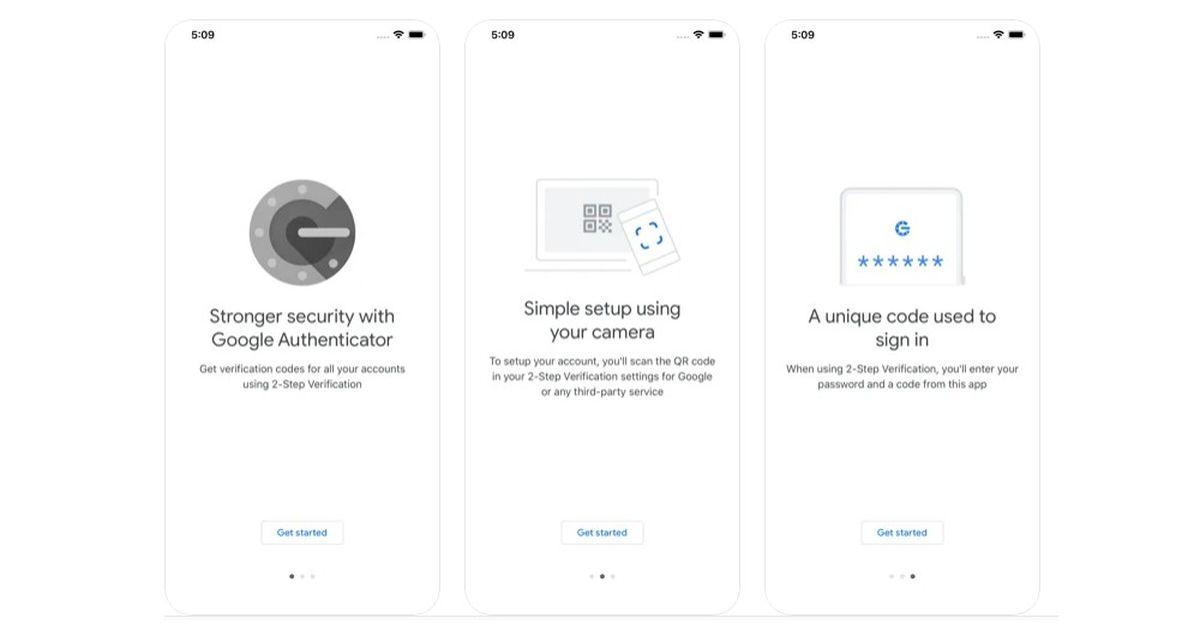 Google Authenticator para iOS obtiene su actualización más importante hasta el momento
