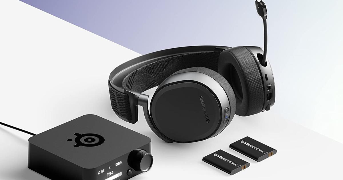 La mejor oferta de auriculares inalámbricos para juegos SteelSeries Arctis Pro: $ 90 de descuento