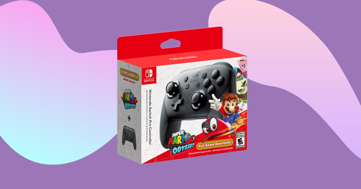 La mejor oferta de paquete de Nintendo Switch Pro Controller: ahorre $ 30 en Walmart