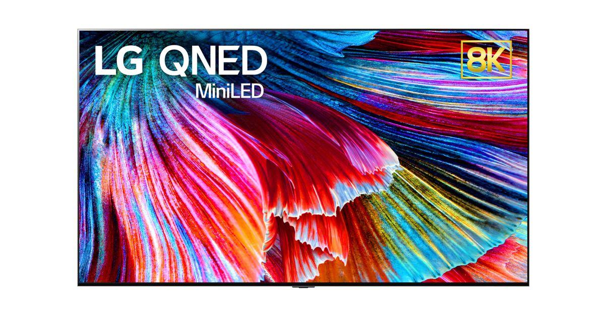 Los nuevos televisores QNED de LG son los primeros en contar con tecnología Mini LED