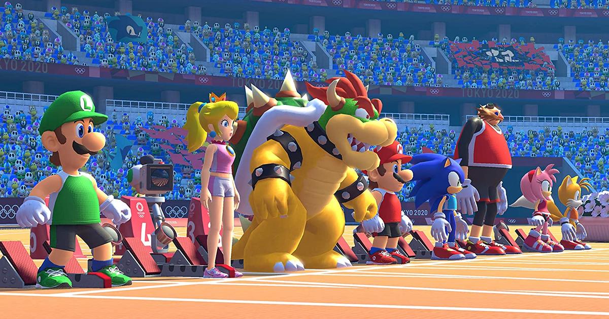 Mejor oferta de Switch 'Mario & Sonic en los Juegos Olímpicos de Tokio 2020'