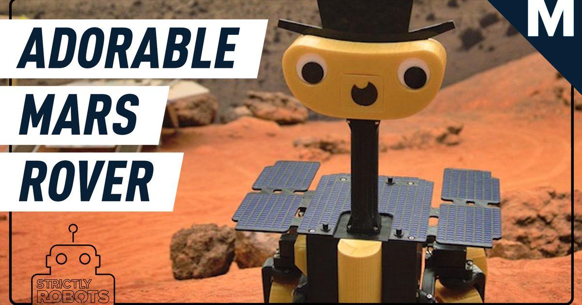 Por fin, puede imprimir una réplica de Mars rover en 3D: Strictly Robots