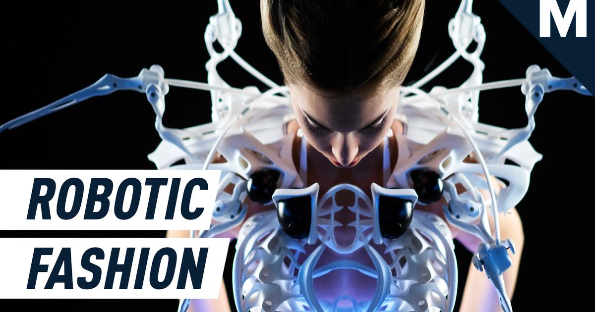 Un diseñador de moda hizo un vestido impulsado por tu cerebro - Future Blink