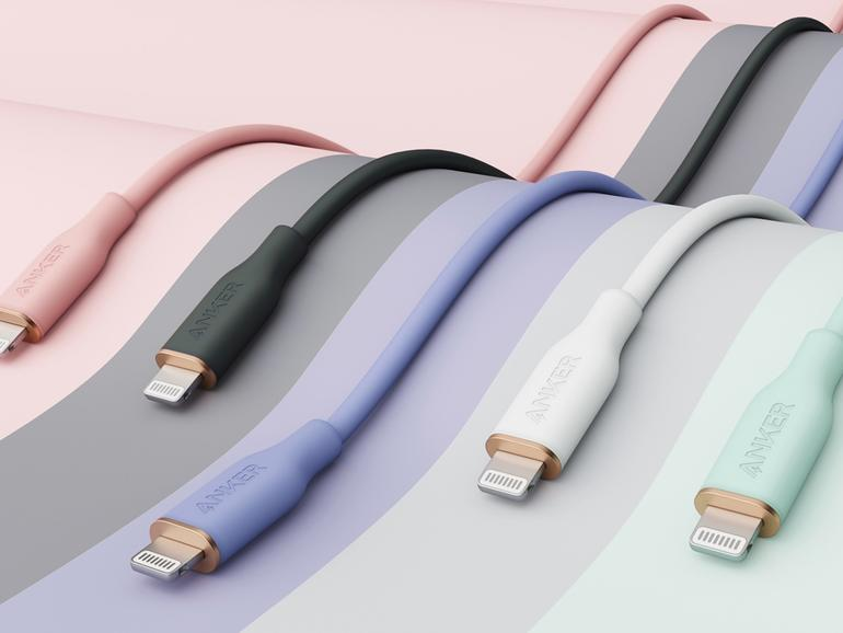 Anker PowerLine III Flow: cable de carga para iPhone súper suave y súper fuerte