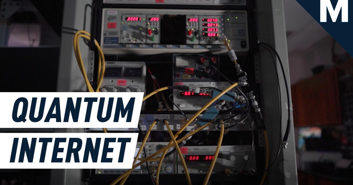 Aquí está todo lo que necesita saber sobre los albores de la Internet cuántica