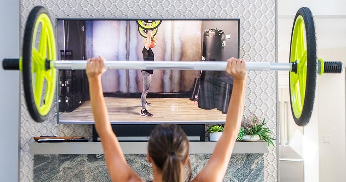 Arregle su gimnasio en casa con un juego de pesas versátil en oferta