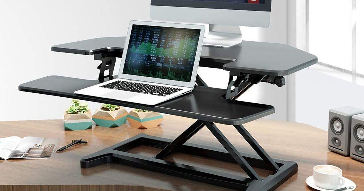 Comprometerse con una mejor postura con un convertidor de escritorio en oferta