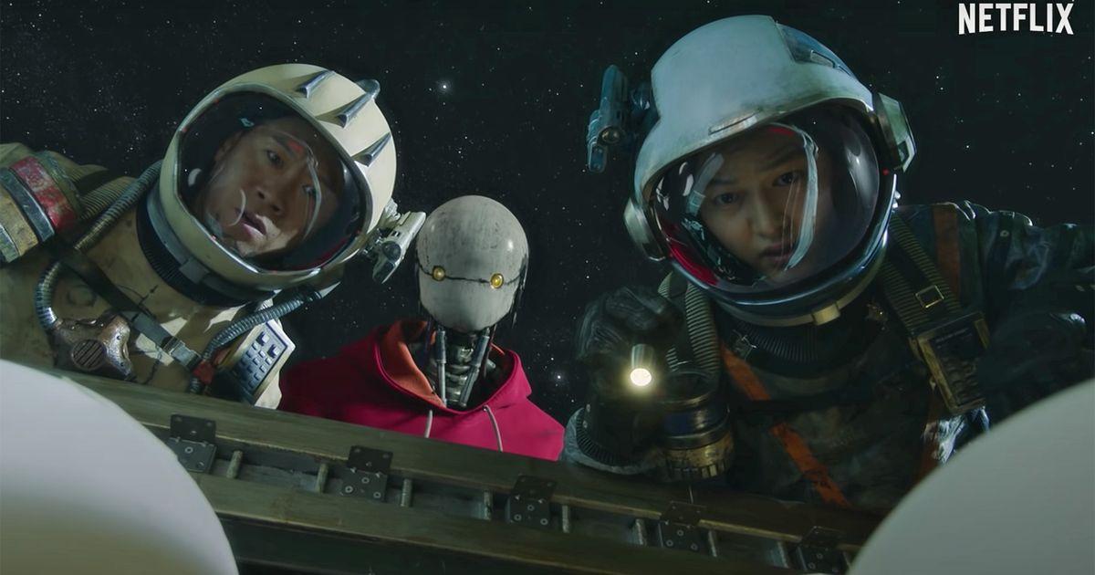 El tráiler de 'Space Sweepers' de Netflix parece un divertido jugueteo lleno de robots a través de las estrellas