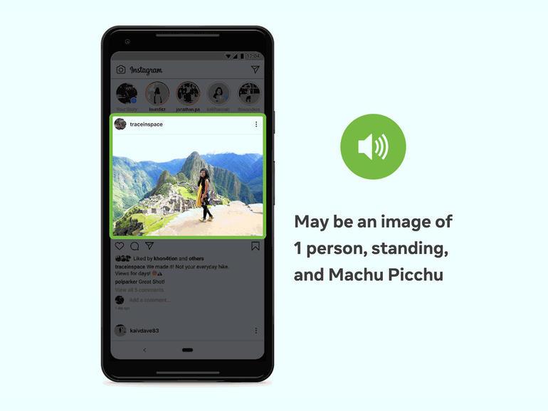 Facebook mejora la inteligencia artificial utilizada para describir fotos para usuarios con discapacidad visual