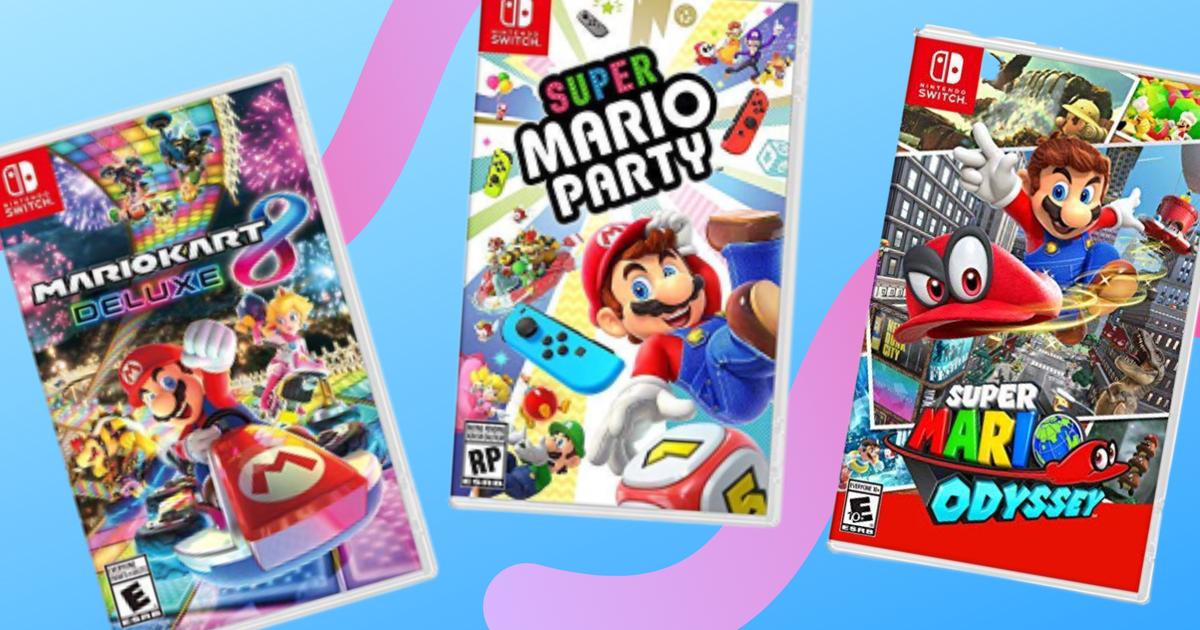 Juegos de Mario Nintendo Switch a la venta: Ahorre hasta $ 30