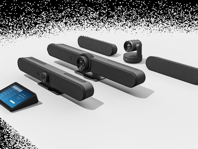 Logitech lanza los sistemas Rally Bar, Rally Bar Mini y RoomMate para salas de conferencias