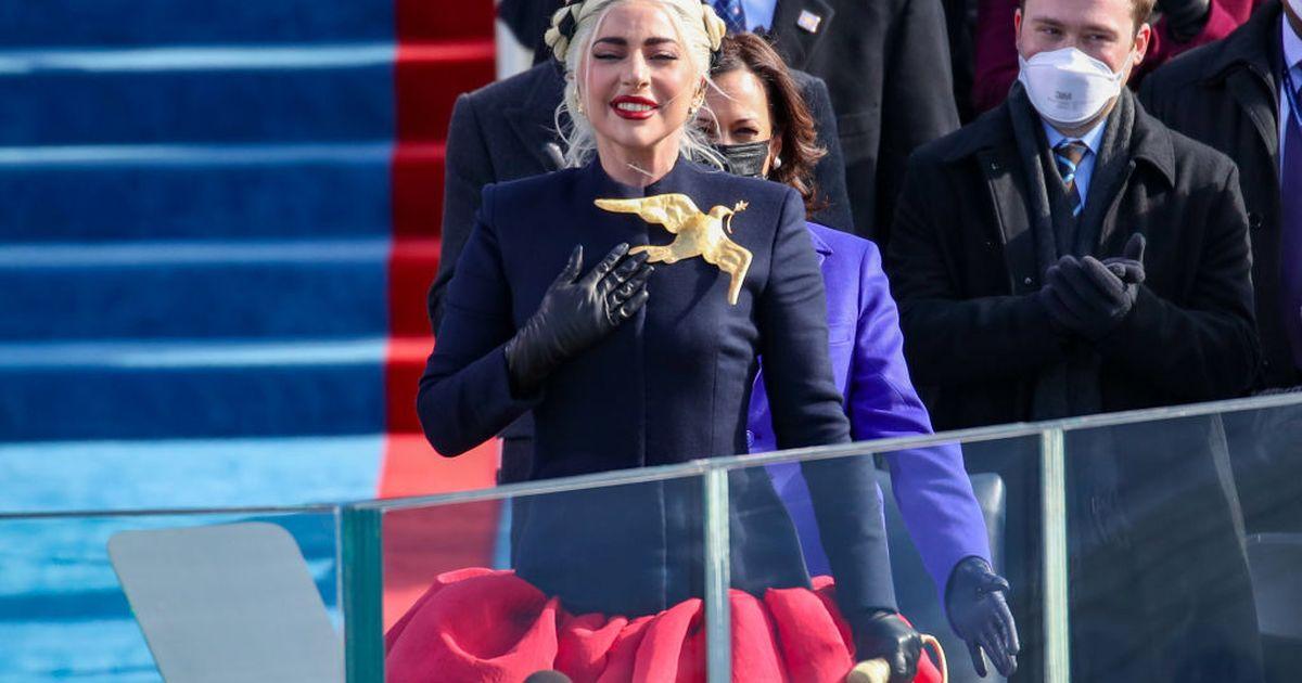 Mira la interpretación perfecta de inauguración del himno nacional de Lady Gaga
