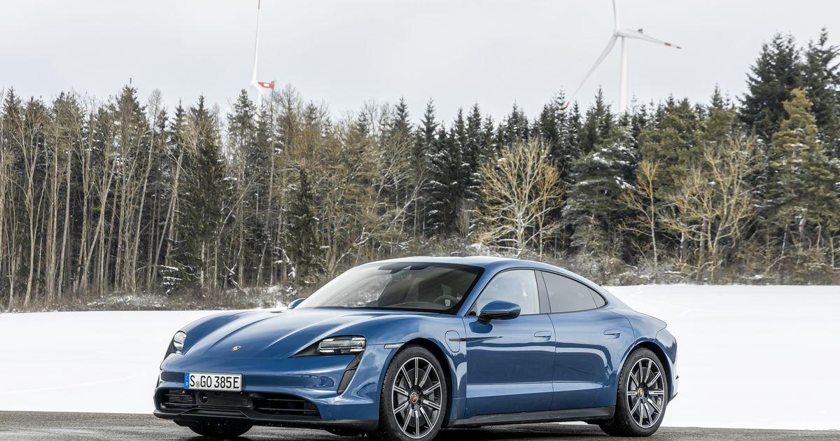 Porsche presenta nuevo Taycan eléctrico por menos de $ 100,000