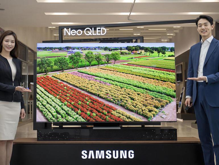 Samsung presenta la nueva marca de televisores MiniLED Neo QLED