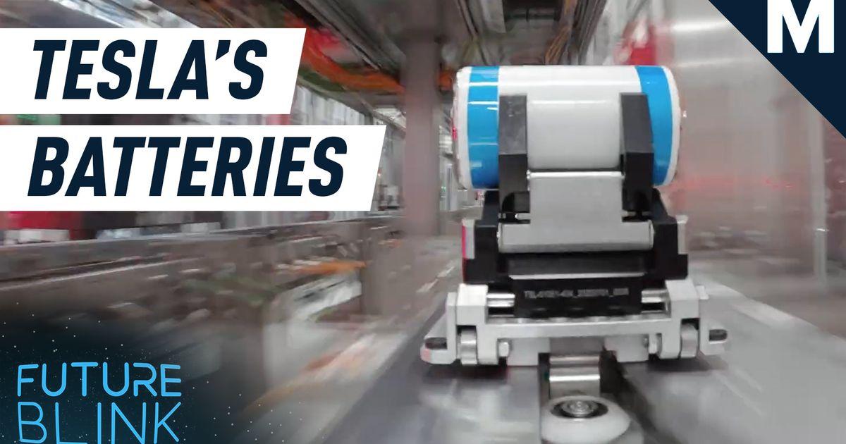 Tesla muestra cómo fabrica sus baterías en un video hipnotizador - Future Blink