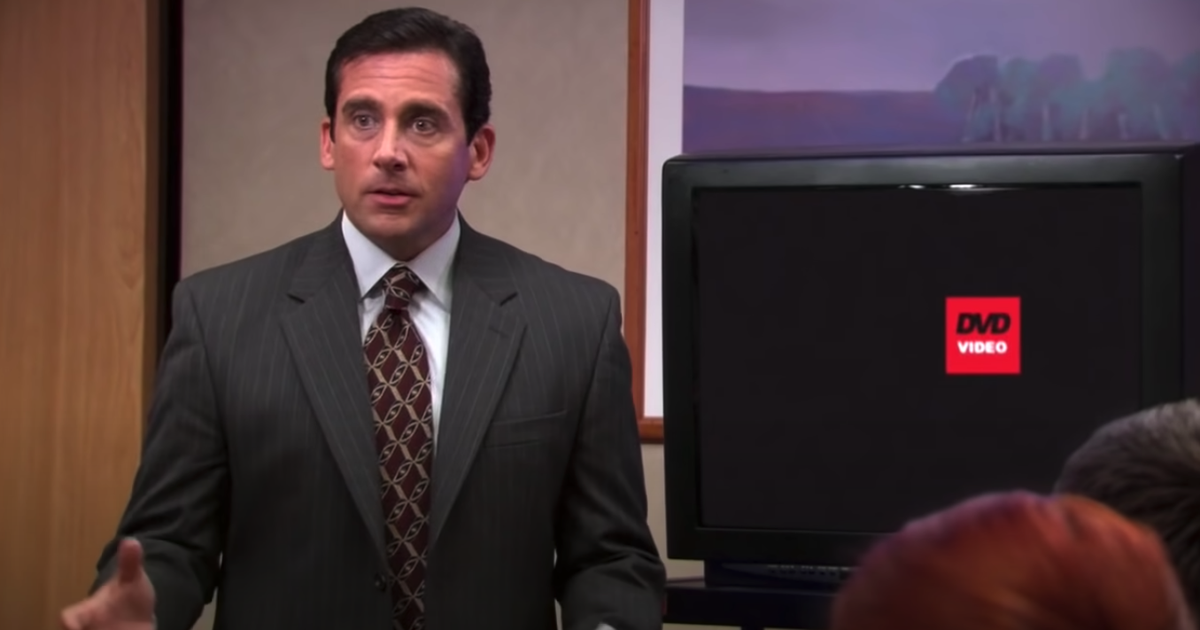 Una inmersión profunda en el querido logotipo del DVD abierto en frío de 'The Office'