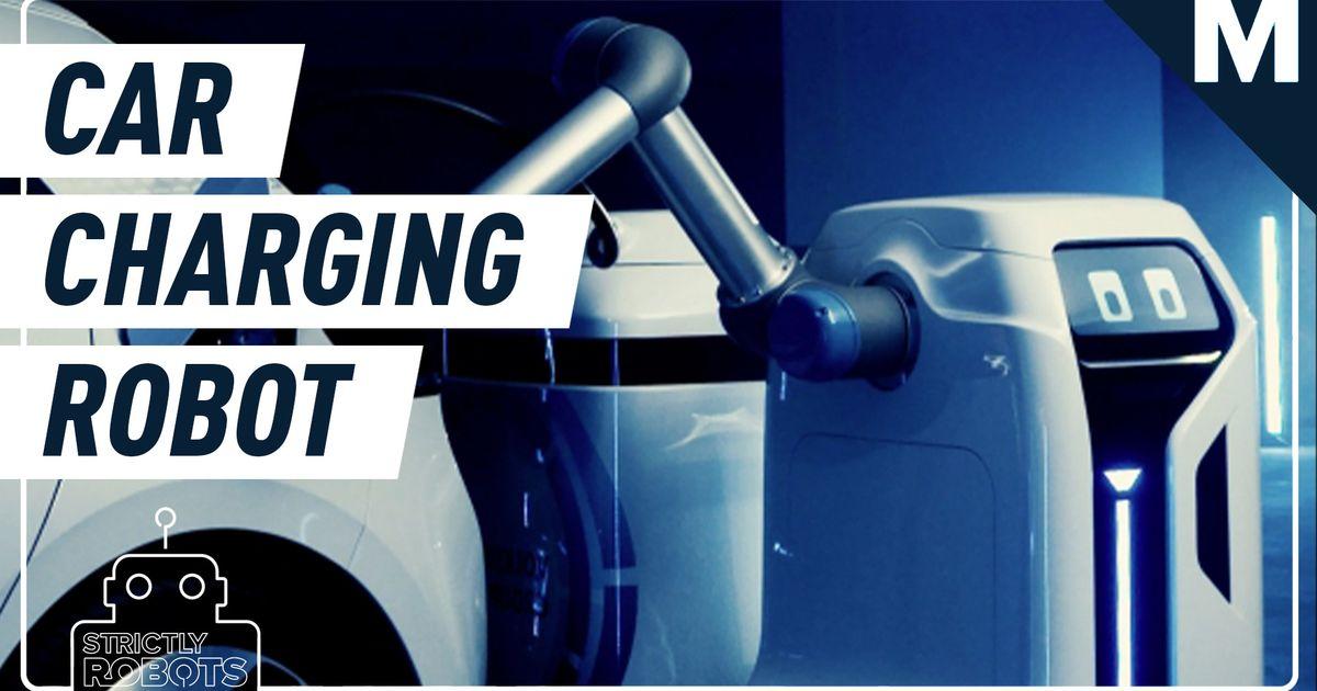 Volkswagen diseñó un adorable robot que puede cargar su vehículo eléctrico por sí solo: Strictly Robots