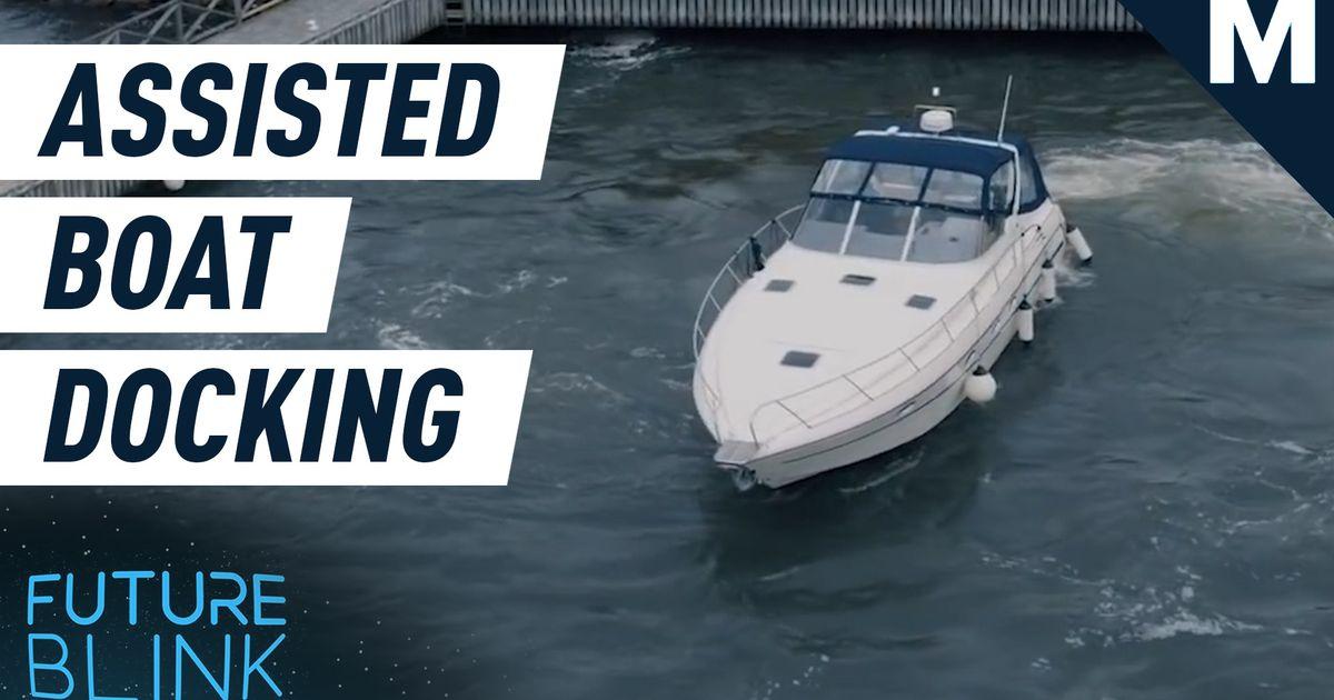 Volvo Penta tiene un nuevo sistema que facilitará mucho el atraque de los barcos: Future Blink