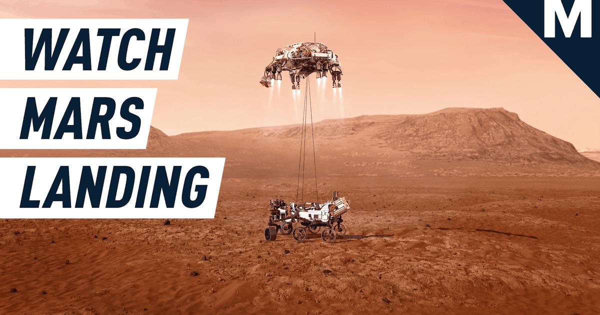 La NASA lanzó imágenes nunca antes vistas de Perseverance a bordo