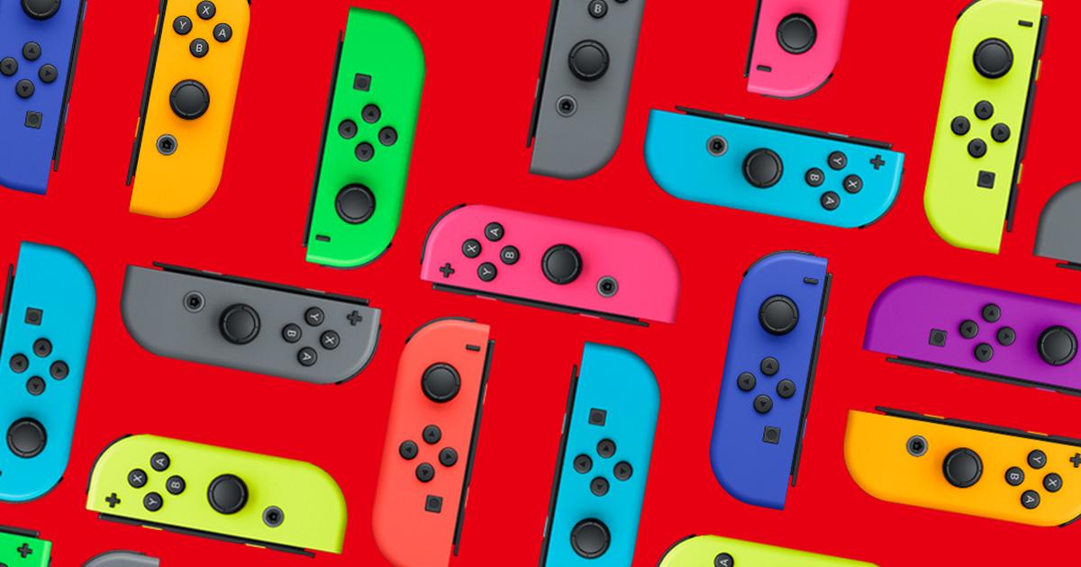 La mejor oferta de controladores Joy-Con de Nintendo Switch: ahorre £ 5 (oferta en el Reino Unido)