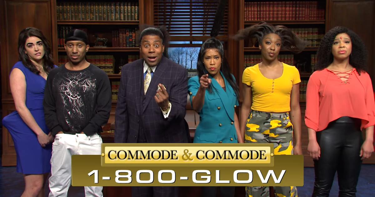 Regina King y Kenan Thompson vienen por Gorilla Glue en 'SNL'
