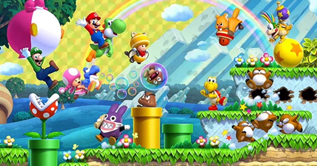 Super Mario Bros.U Deluxe (oferta en el Reino Unido)