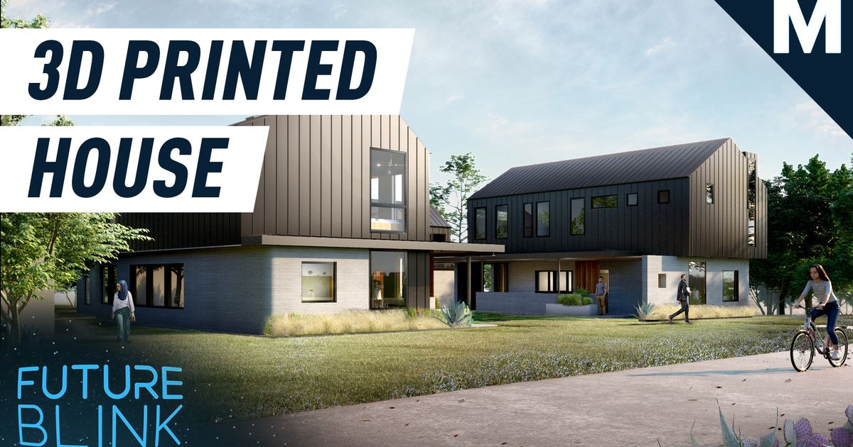 Ahora tiene la oportunidad de comprar una casa impresa en 3D - Future Blink