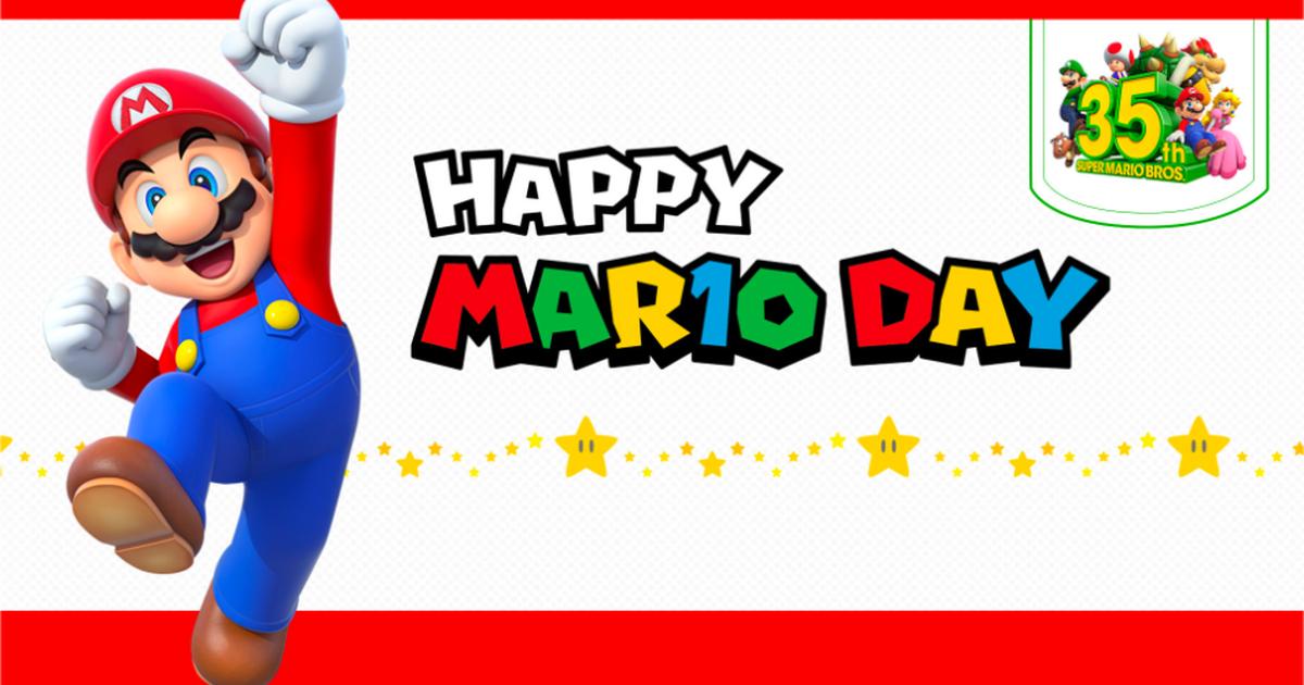 Ahorra un 35% en determinados juegos de Mario para Nintendo Switch