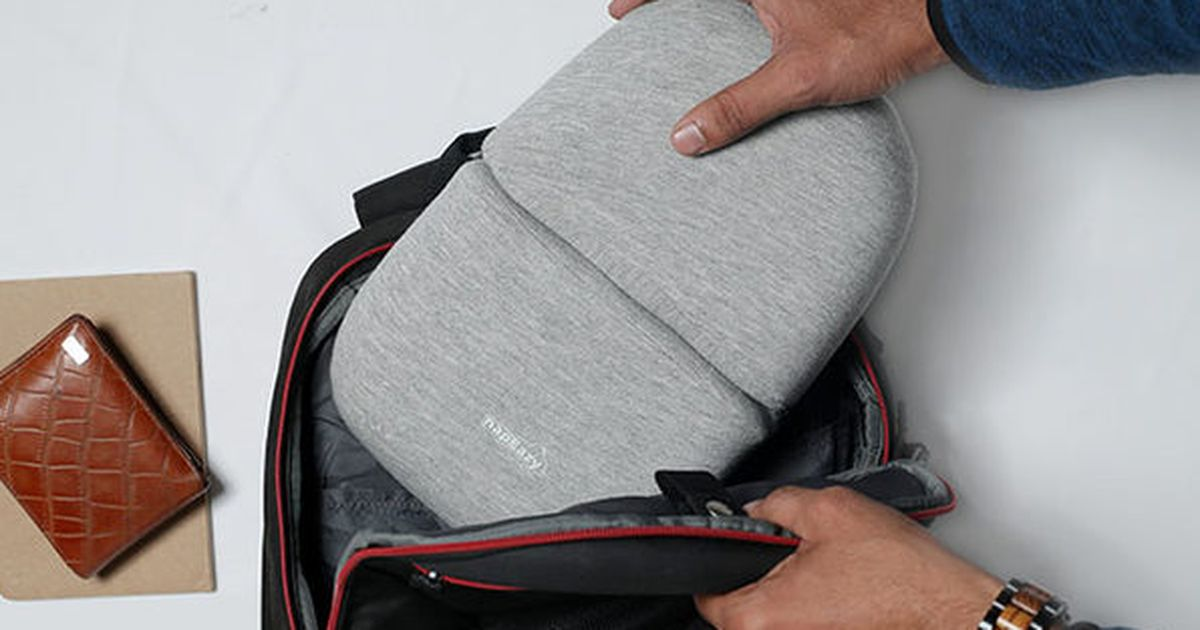 Ahorre en una almohada súper versátil que puede llevar prácticamente a cualquier lugar