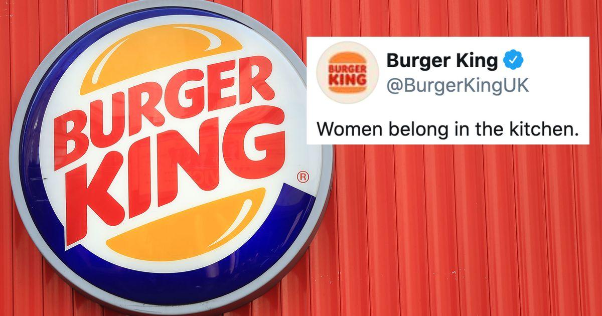 Burger King tuvo un tweet realmente malo para el Día Internacional de la Mujer