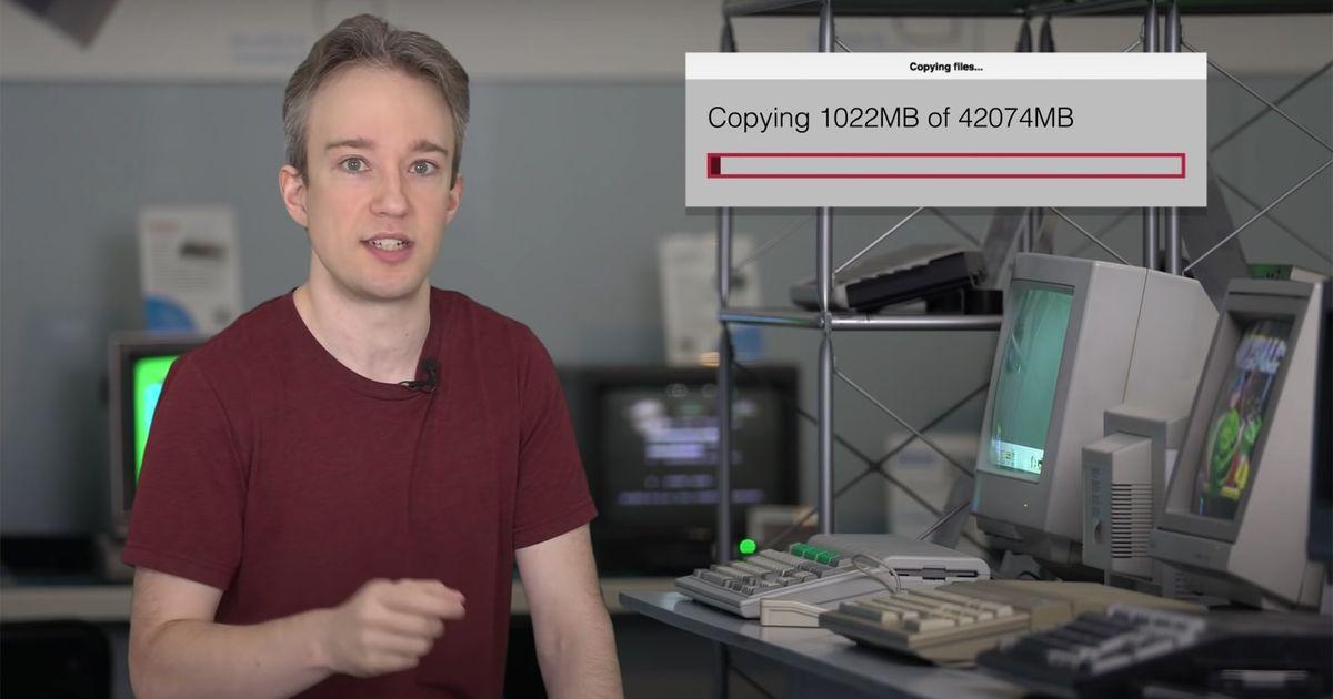 He aquí por qué las barras de progreso en su computadora no se cargan a un ritmo constante