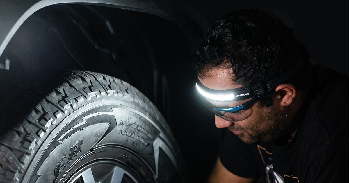 Ilumina tu camino en carreras nocturnas con un faro en oferta