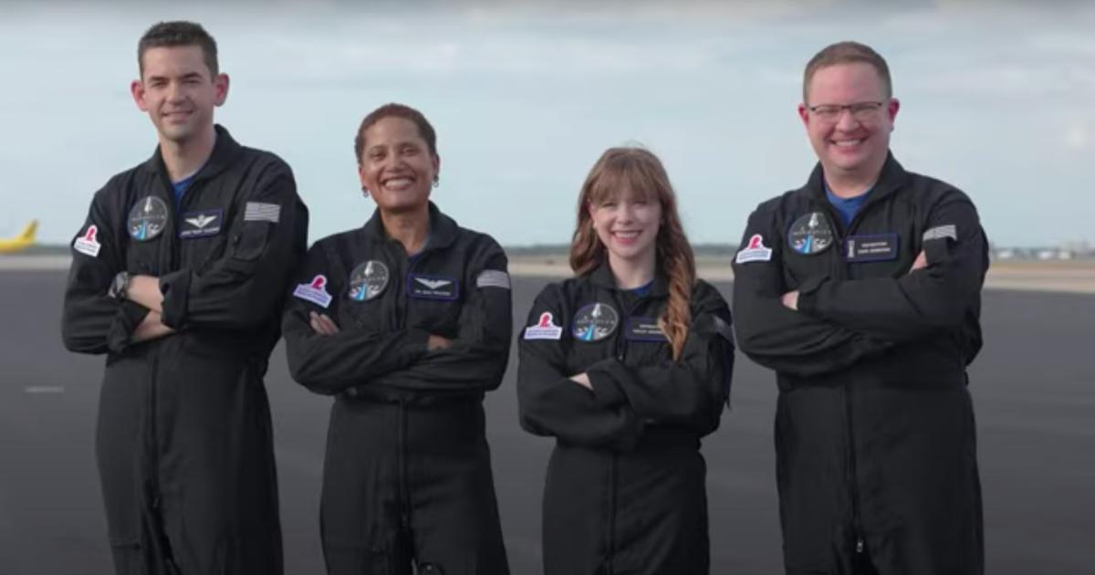 La primera misión espacial totalmente civil selecciona a los miembros finales de su tripulación