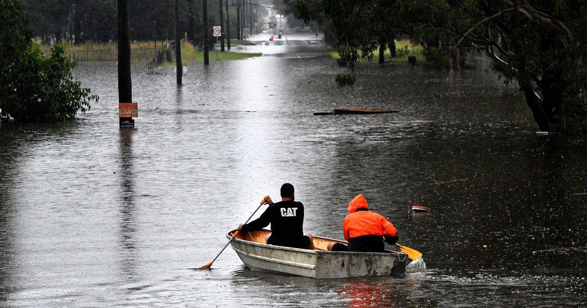 Las fotos muestran la devastación de las lluvias torrenciales y las inundaciones en la costa este de Australia