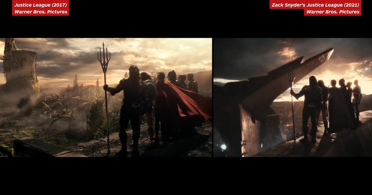 Todos los cambios entre las dos películas de la 'Liga de la Justicia'