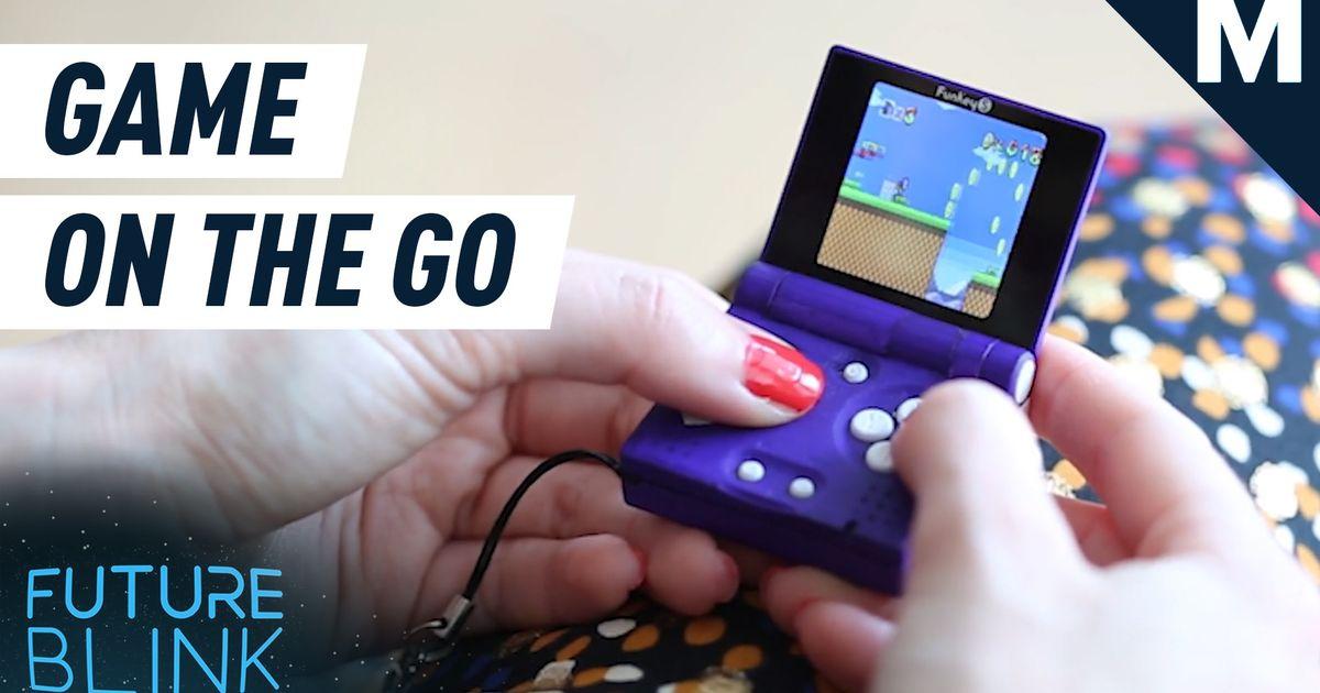 Juega en cualquier momento y en cualquier lugar con esta consola súper pequeña: Future Blink