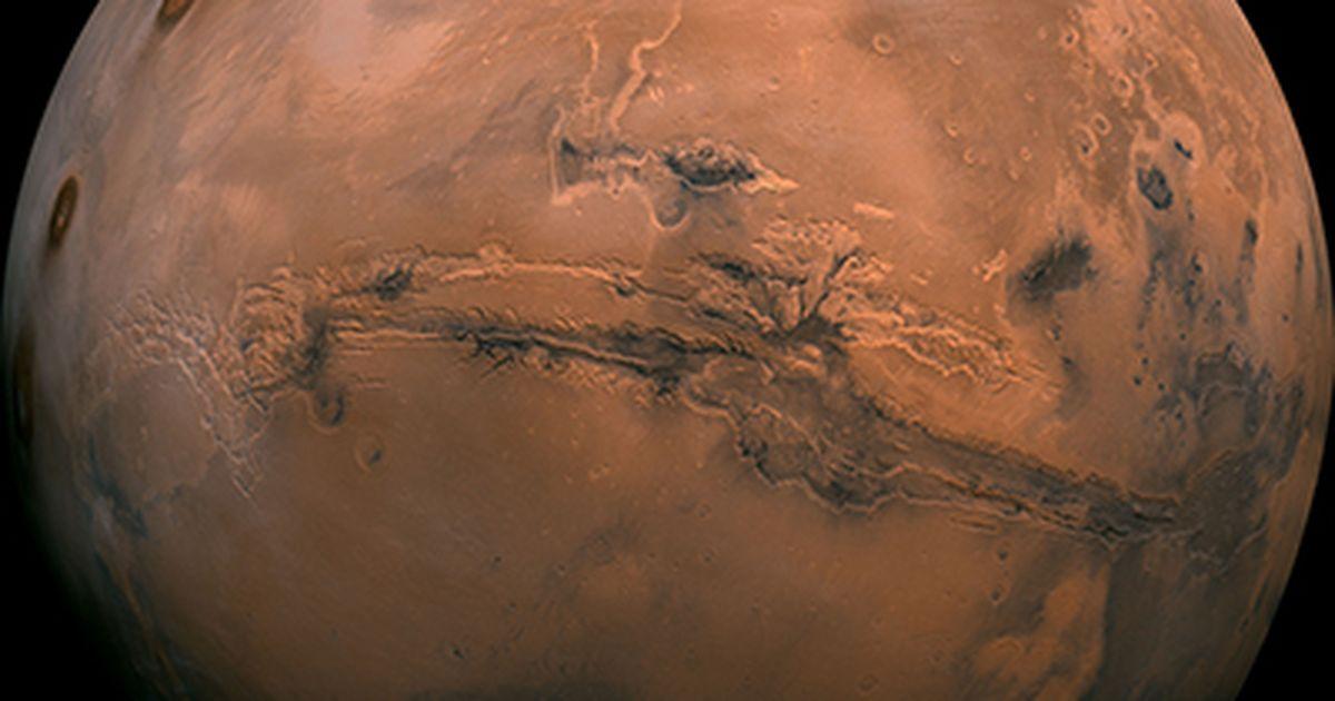 La NASA registró dos 'terremotos importantes' en Marte