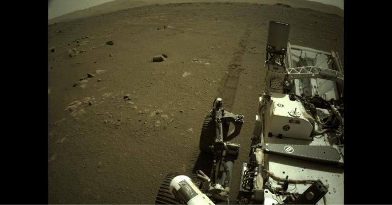 La NASA ha compartido las primeras grabaciones de audio de un viaje por Marte.
