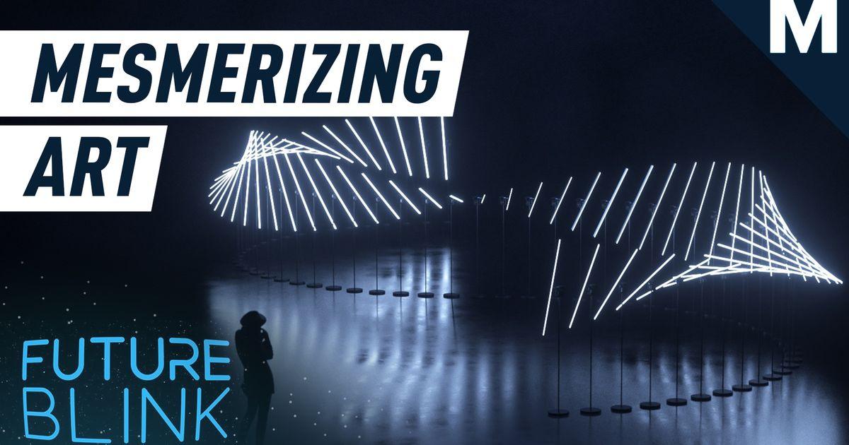 No podemos dejar de mirar esta fascinante pantalla de luz: Future Blink